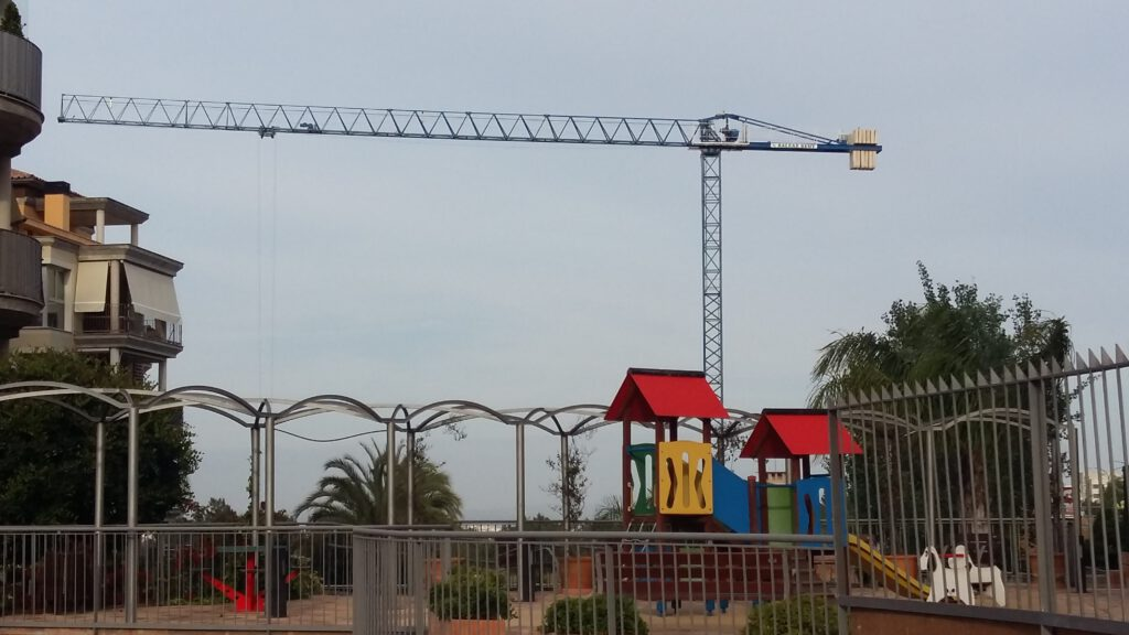 Gruas torre Mallorca