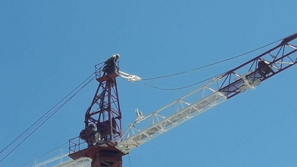 Reparación grúas torre Mallorca